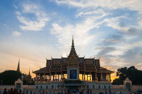PHNOM PENH - Royal Palace