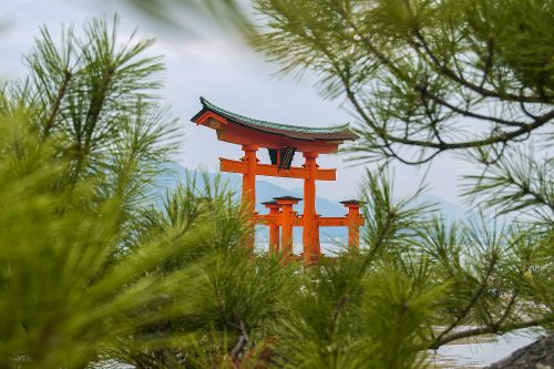 MIYAJIMA ISLAND - The Great Torii