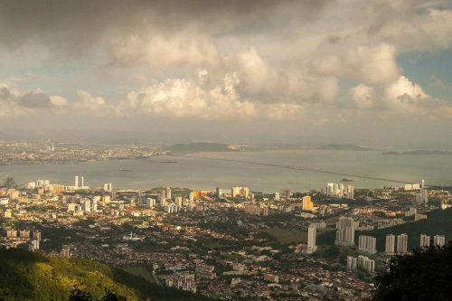 PENANG - Penang Hill (You can access the top of the hill by tram for approximately $10.)